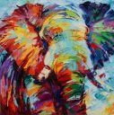 Schilderijen: Art-Prints, Elephantus